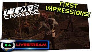 Time Carnage PSVR First Impressions!