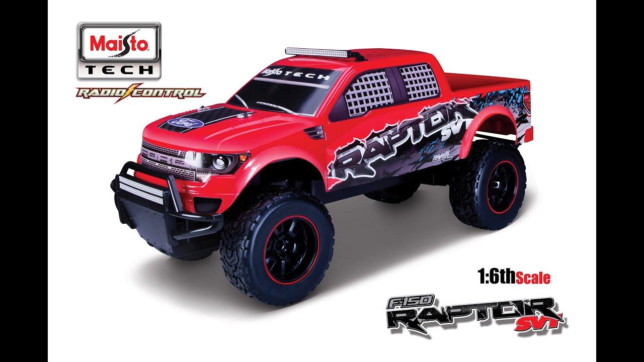 sc 1 st  YouTube & MaistoTECH R/C Off-Road Series: 1/6th Scale F-150 Raptor SVT - YouTube markmcfarlin.com