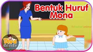 Bentuk Huruf Mona | Video Lucu Diva the series | Diva The Series Official