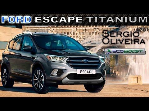 Ford Escape Titanium Ecoboost 2017; SUV con espíritu de deportivo