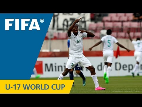 Highlights: Nigeria v. USA – FIFA U17 World Cup Chile 2015