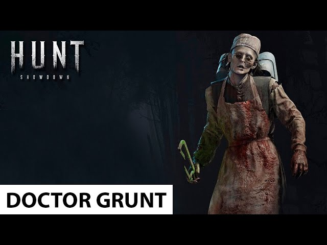 Doctor Grunt in Hunt: Showdown