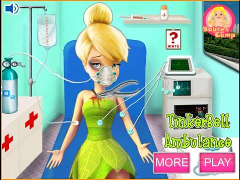 Disney Tinkerbell Games For Kids Disney Doctor Youtube