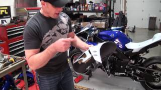 Armour Bodies Race Bodywork Install on the 2013 STG Project Bike from SportbikeTrackGear com