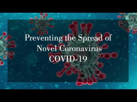 Preventing the spread of COVID-19    ناول کورونا وائرس کے پھیلاؤ کو روکنے کی تدابیر