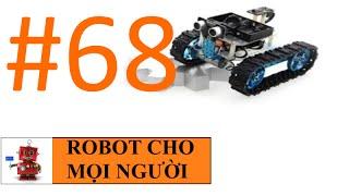 Xe robot điều khiển bằng Android (bluetooth) P3 - Mạch điện robot