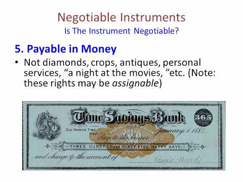 Bank Cheque: Bank Cheque Negotiable Instrument