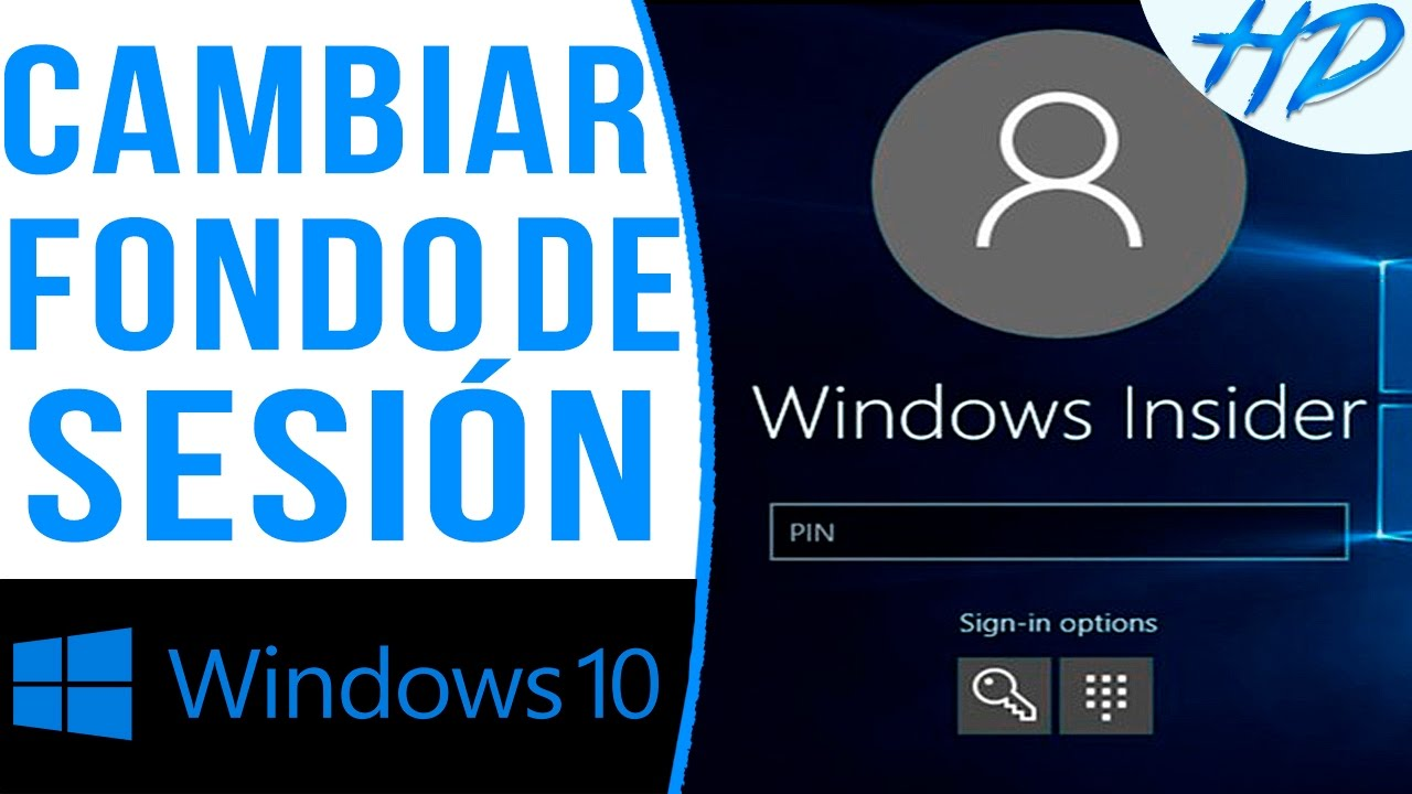 Cambiar fondo pantalla inicio windows 10