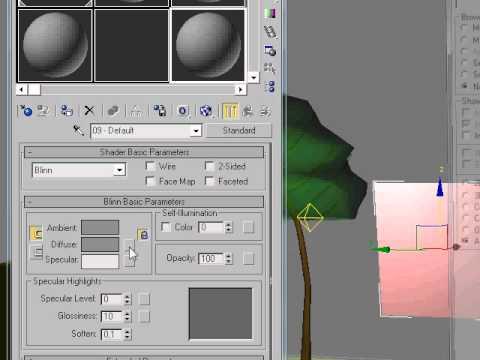 как вставить прозрачную картинку в 3d max