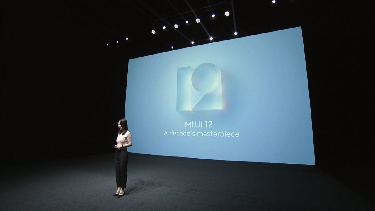 MIUI 12 Récapitulation de l'inauguration global
