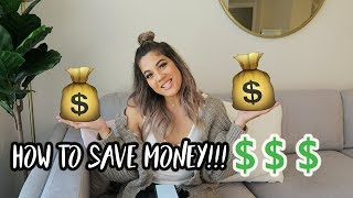 10 WAYS I SAVED MONEY TO MOVE OUT💰