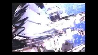 EVA STS 118 Helmet camera