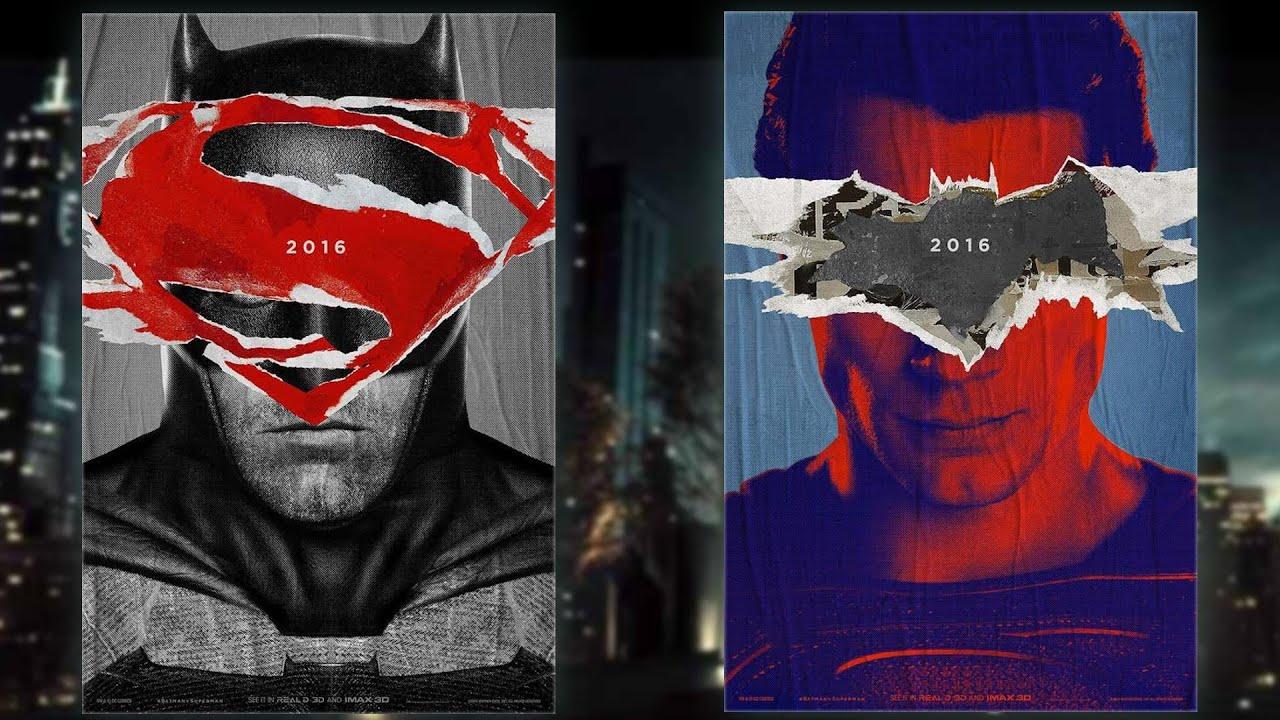 New BATMAN V SUPERMAN Posters Review
