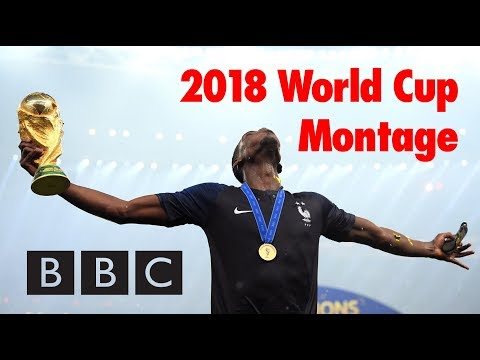 BBC 2018 World Cup montage