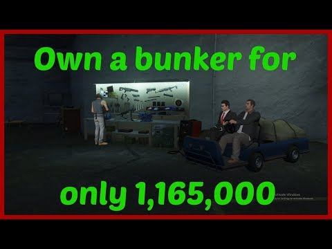 GTA 5 cheapest way to own a bunker