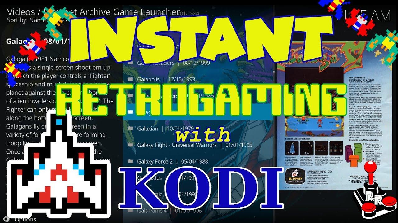 Emulation with KODI | Fantastic casual retrogaming