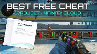 CS:GO FREE CHEAT | PROЈECT INFINITY (UNDETECTED 2020) // #FREECHEAT