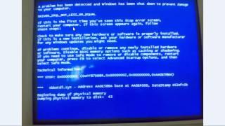 الحل النهائي لمشكلة الشاشة الزرقاء في ويندوز xp و ويندوز 7