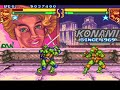 Teenage Mutant Ninja Turtles: Tournament Fighters (Super NES) Tournament as Leonardo