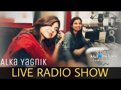 Alka Yagnik LIVE Radio Program