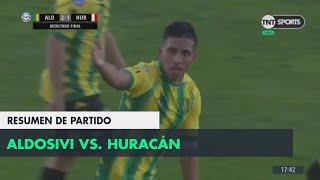 Resumen de Aldosivi vs. Huracán (2-1) | Fecha 2 - Superliga Argentina 2018/2019