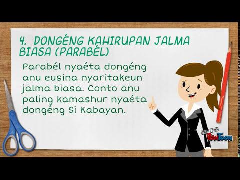 Basa Sunda Materi Dongeng Youtube
