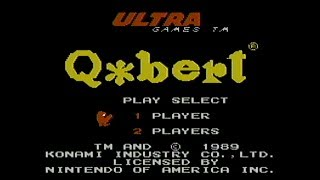 Q*Bert - NES Gameplay