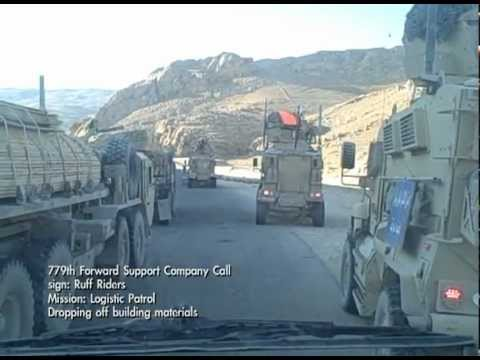 US ARMY Logistics Convoys around Mosul, Iraq and other missions.