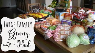 Large Family Grocery Haul | SAM