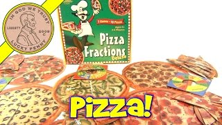 Pizza Fractions Deluxe Math Learning Game, by Learning Resources