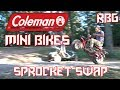 Coleman CT200U / CT200U-EX Mini Bike Sprocket Change ~ Mini Bike Monday