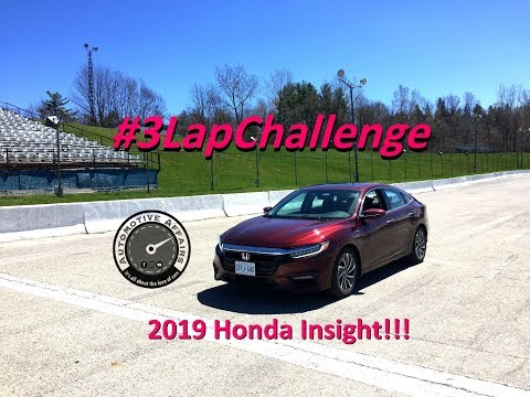 #3LapChallenge feat. 2019 Honda Insight Hybrid - Automotive Affairs