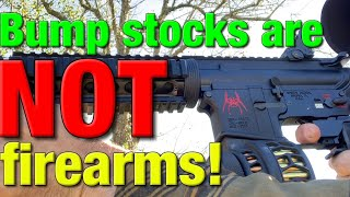 Why the ATF can't rule on bump stocks