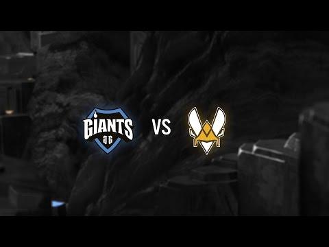 Giants vs Vitality Highlights - Week 7 EULCS Spring 2017