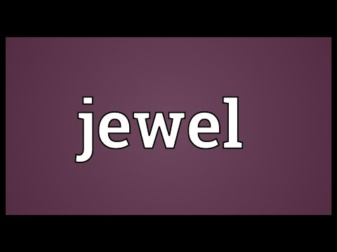 Jewel Meaning