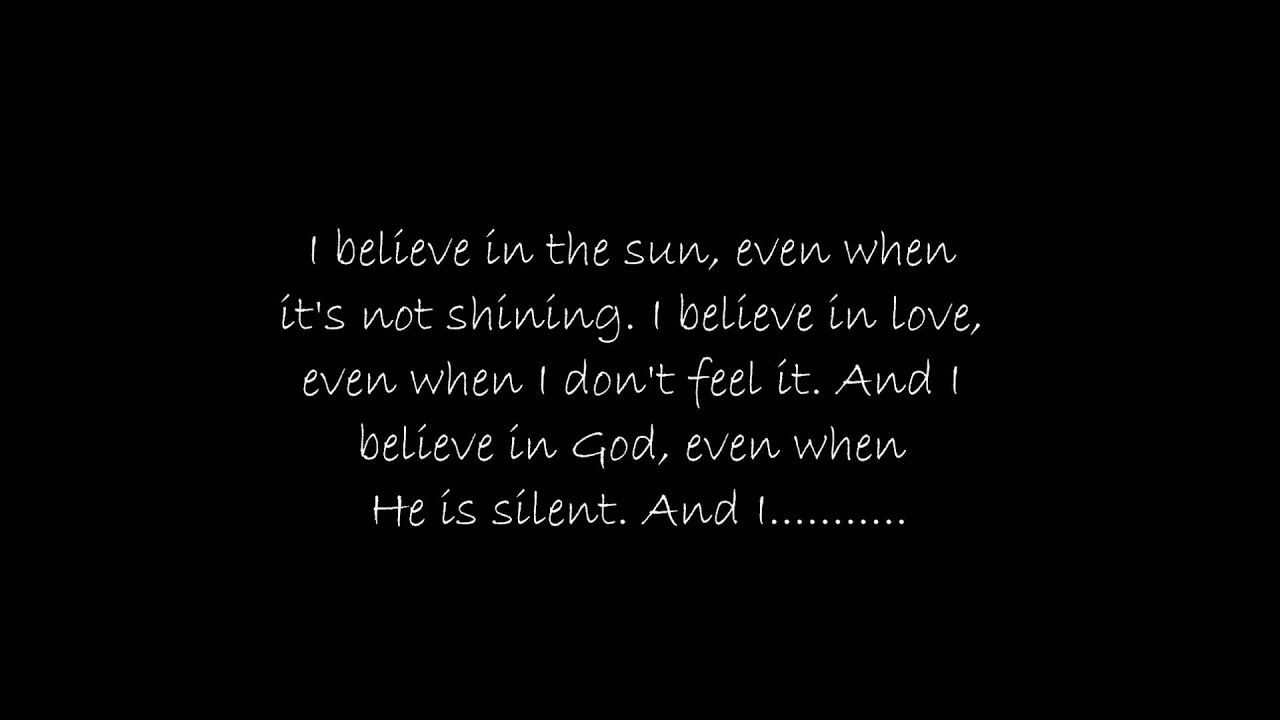 Believe In Love Quotes Barlowgirl  I Believe In Love With Lyrics  Youtube