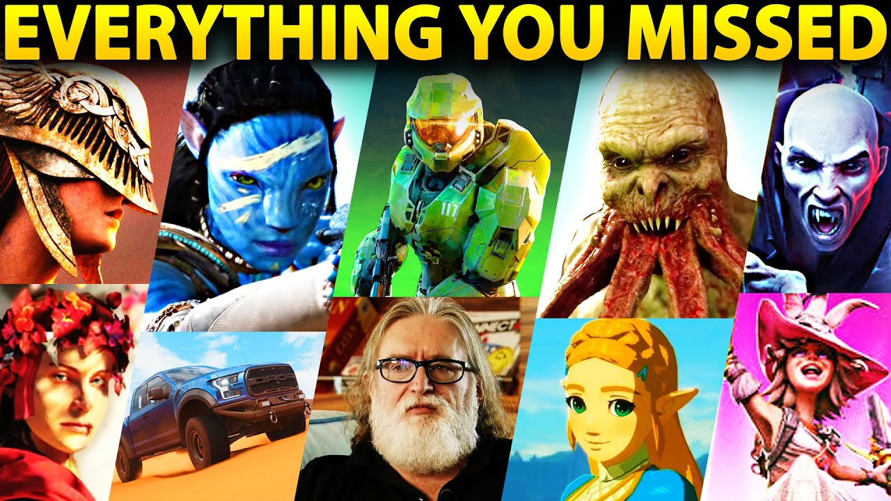 EVERYTHING YOU MISSED AT E3 2021 - BEST GAMES & TRAILERS (Full Recap)