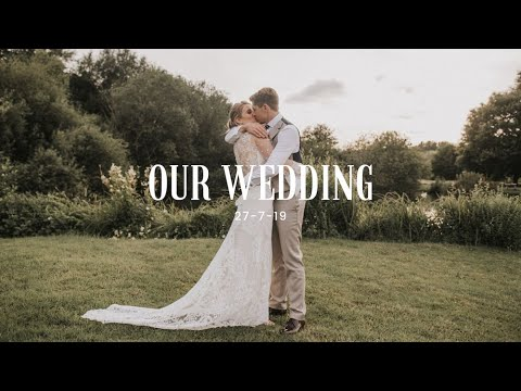 OUR WEDDING DAY // WEST SUSSEX OUTDOOR WEDDING