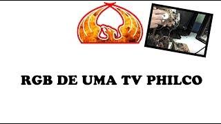 RGB de uma tv philco