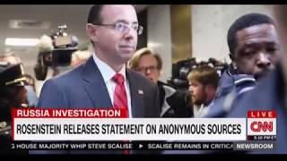 Trump tweet about investigation due to Rosenstein was a surprize to his own legal team