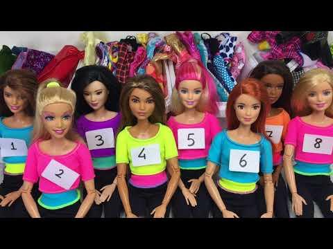 Barbie Kombin Challange 👚👘👗 || Minişler Cupcake Tv & Minişler LPS MAYA 🌺