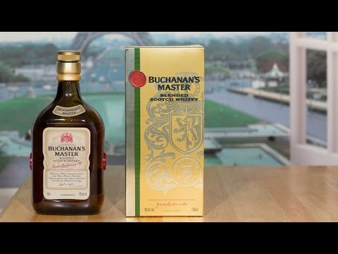 Whisky Brasil 90: Buchanan † s Master Review