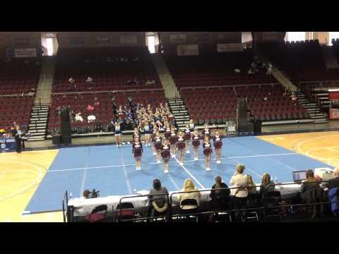 Foxcroft Academy Cheerleaders (Regional Cheering Championship)