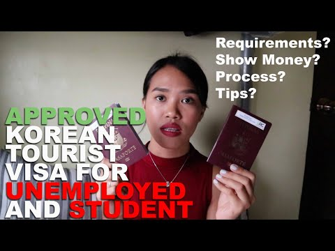 HOW TO APPLY FOR A KOREAN TOURIST VISA 2019 (Employee / Unemployed / Student) | Meppy Girl
