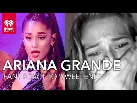 12 Ariana Grande Fan Freak Out Reactions To &39;Sweetener&39;  Fan Reactions