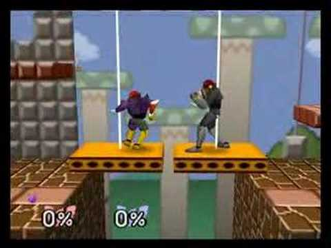 SSB: Falcon Punches Collide?