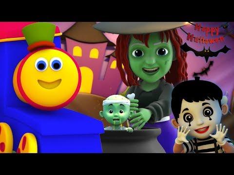 บ๊อบรถไฟ | สวัสดีวันฮาโลวีน | เพลงฮาโลวีนสำหรับเด็ก | Hello It's Halloween | Kids Tv Thailand