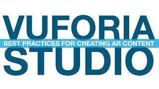 Vuforia Studio: les Meilleures Pratiques pour la Création de Contenu AR