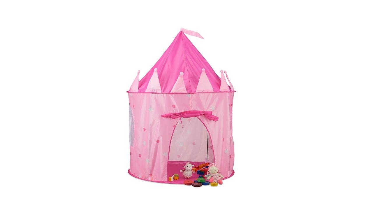 Spielzelt Prinzessin für Mädchen rosa