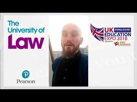 The University of Law at UK Education Expo 2018